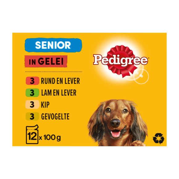 Pedigree Maaltijdzakjes senior hondenvoer product photo
