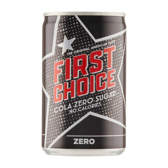 First Choice Cola zero mini product photo