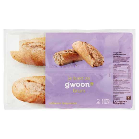 g'woon Baguette volkoren product photo