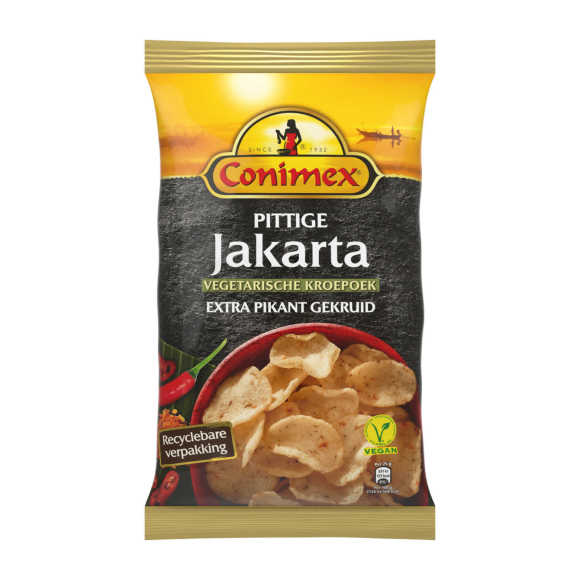 Conimex Kroepoek spicy jakarta vegan= product photo