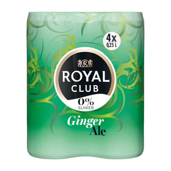 Royal Club Ginger ale 0% product photo