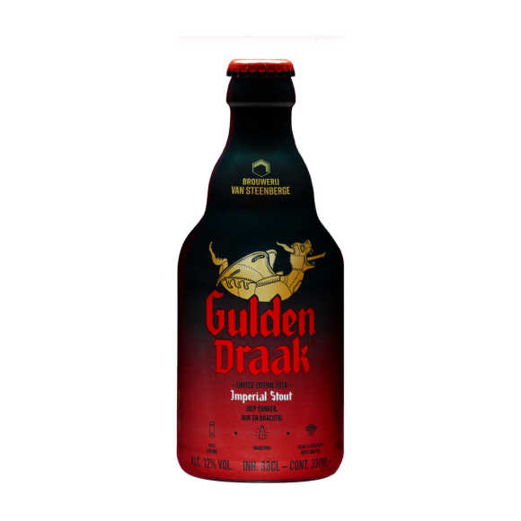 Gulden Draak imperial stout product photo