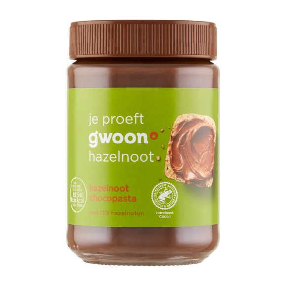 g'woon Chocopasta hazelnoot product photo
