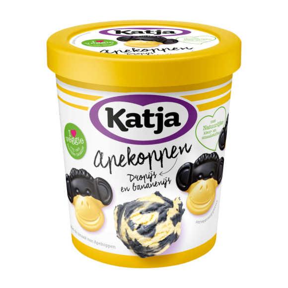Katja Apekoppen ijs drop en banaan product photo