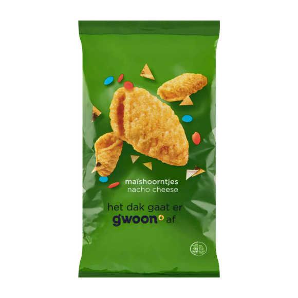 g'woon Maishoorntjes nacho cheese product photo