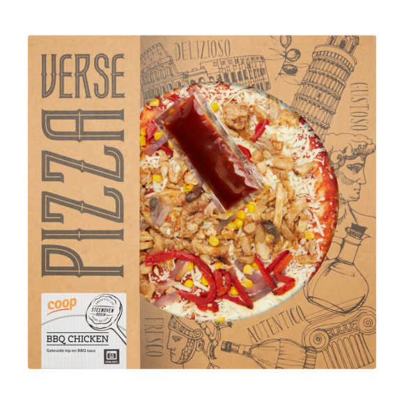 Verse pizza bbq chicken product photo
