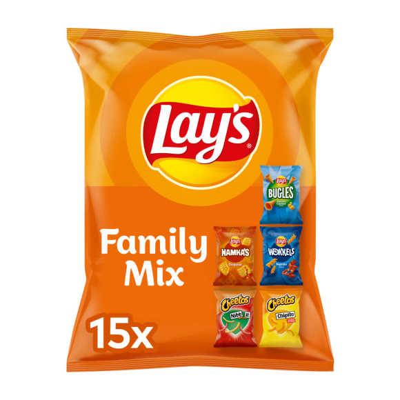 Lay's Family Mix 5 variaties uitdeelzakjes product photo