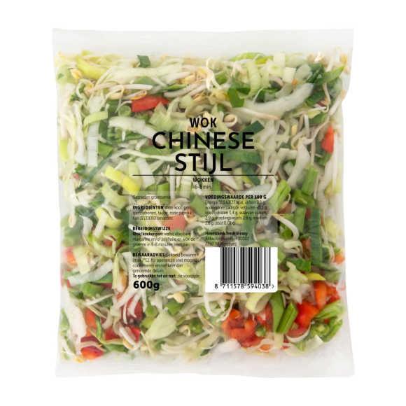 Chinese roerbakgroenten product photo