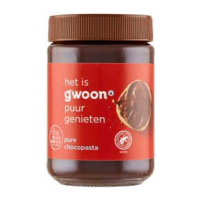g'woon Chocopasta puur product photo