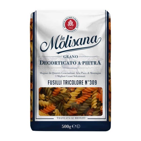 La Molisana Spa Fusilli tricolore product photo