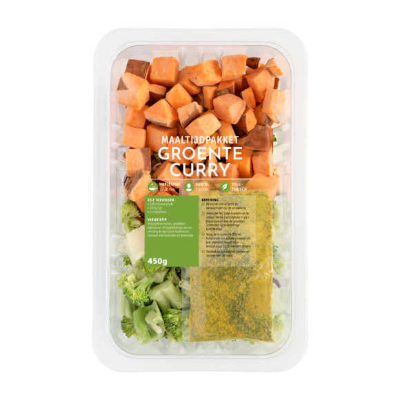 Fresh & Easy Maaltijdpakket curry product photo
