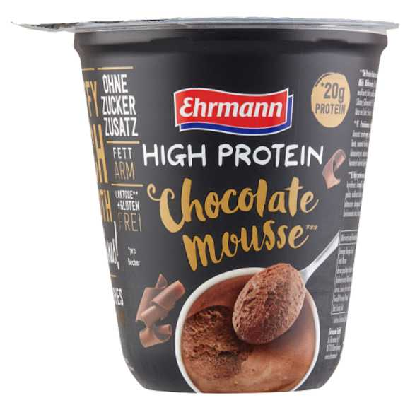 Ehrman High protein mousse choco product photo