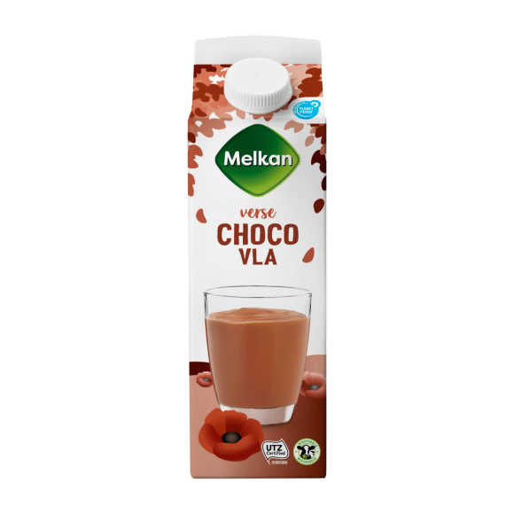 Melkan Verse chocolade vla product photo