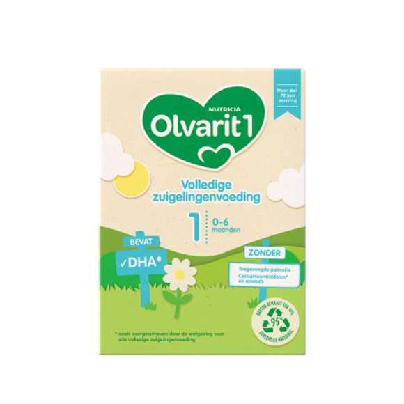 Olvarit Volledige zuigelingenvoeding 1 0+ maanden product photo