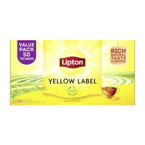 Lipton Yellow label tea product photo