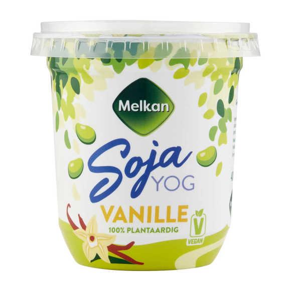 Melkan Soja yoghurt vanille product photo