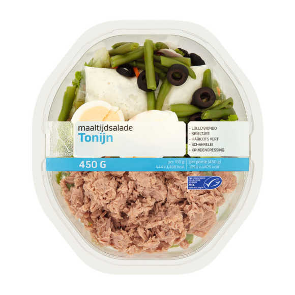 Maaltijdsalade tonijn product photo