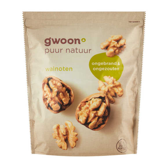 g'woon Walnoten 500 g product photo