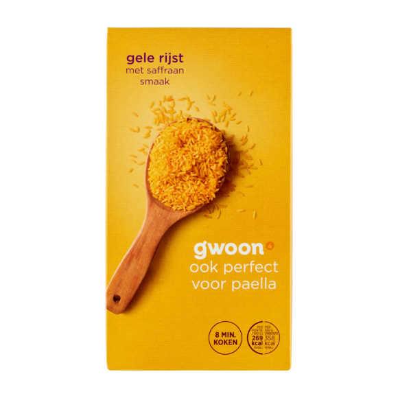 g'woon Gele Rijst 325 g product photo
