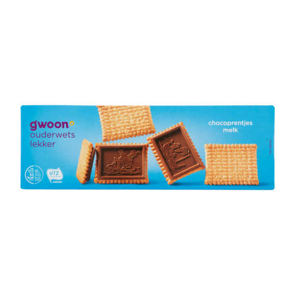 g'woon Chocoprentjes melk product photo