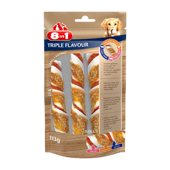 8In1 triple flavour rolls product photo
