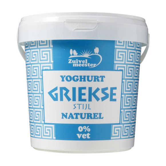 Zuivelmeester Yoghurt Griekse stijl 0% vet product photo