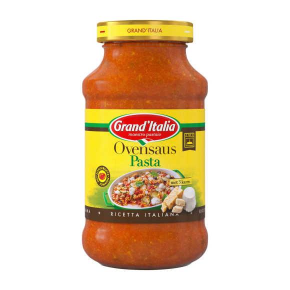 Grand'Italia Ovensaus pasta product photo
