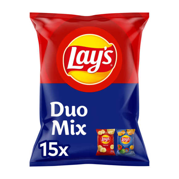 Lay's Duo Mix Paprika & naturel uitdeelzakjes product photo