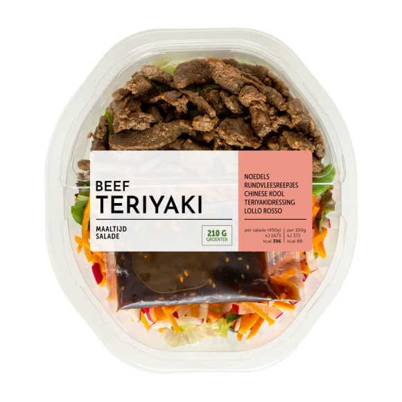 Fresh & Easy Maaltijdsalade beef teryaki product photo
