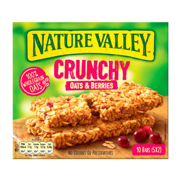 Nature Crunchy oats berries product photo