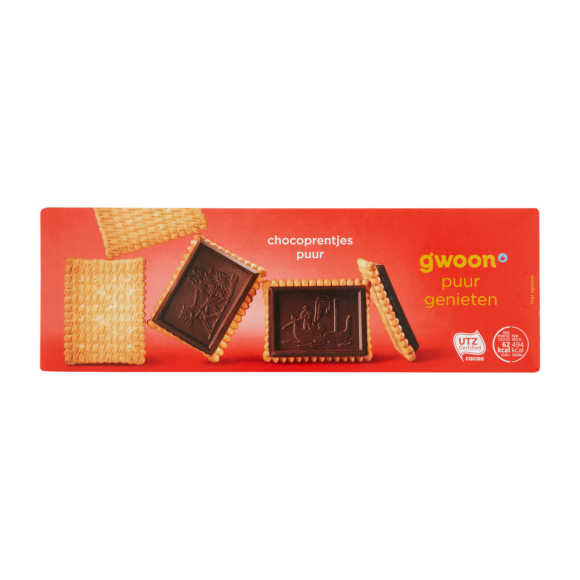 g'woon Chocoprentjes puur product photo