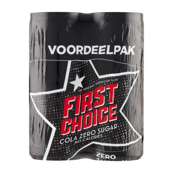 First Choice Cola zero sugar product photo