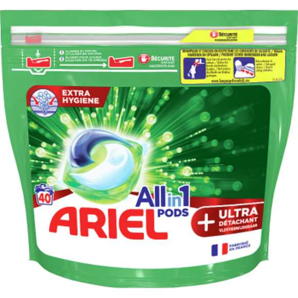 Ariel All-in pods ultra 40 stuks product photo