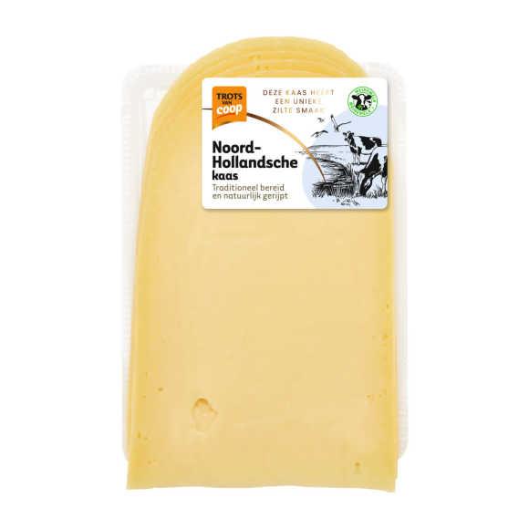Trots van Coop Noord-Hollandsche romig jonge 35+ kaas plakken product photo