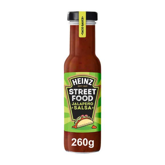 Heinz Streetfood Jalapeno Salsa saus product photo