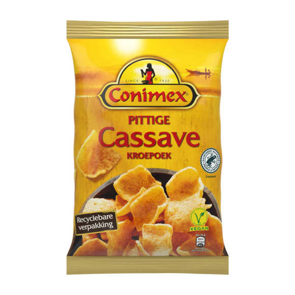 Conimex Kroepoek pittige cassave product photo