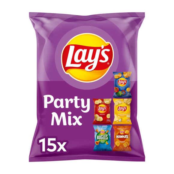 Lay's Party Mix 5 variaties uitdeelzakjes product photo
