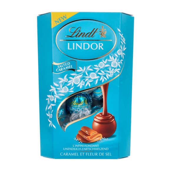 Lindt Lindor karamel zeezout product photo