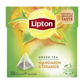 Lipton Green tea mandarin & orange product photo