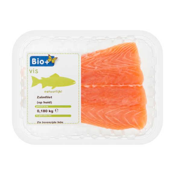 Bio+ Bio zalm filet m/h product photo