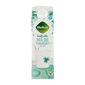 Melkan Halfvolle milde yoghurt product photo