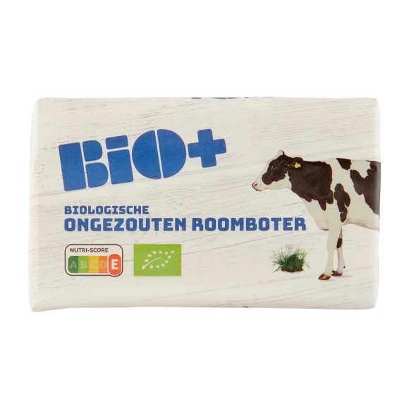 Bio+ Biologische ongezouten roomboter product photo