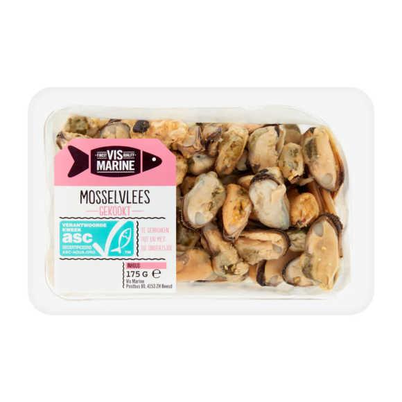 Vis Marine Mosselvlees gekookt product photo