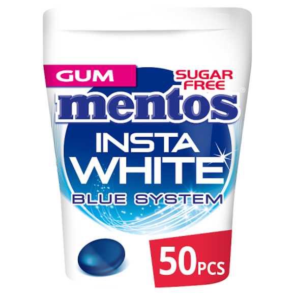 Mentos Insta white kauwgom mint product photo