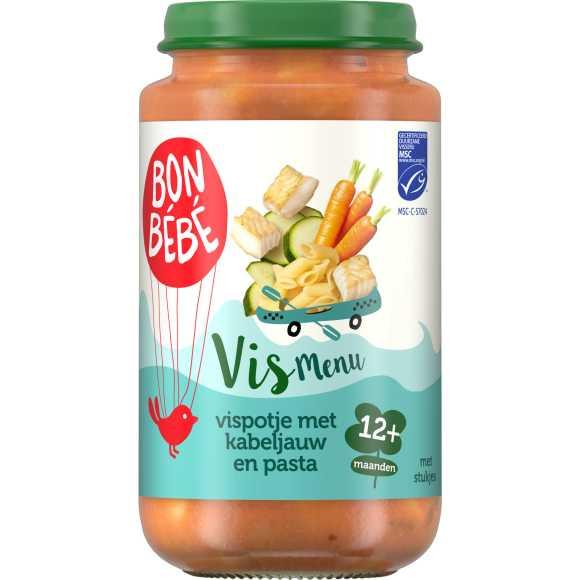 Bonbébé Vispotje met volkoren pasta 12+ maanden product photo