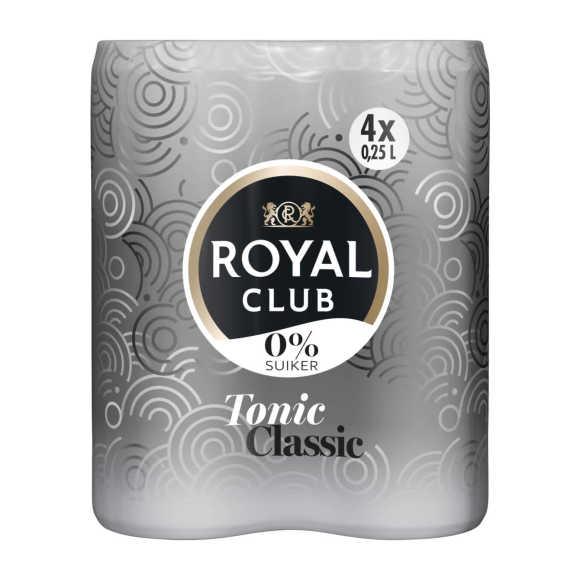 Royal Club Tonic 0% blik 4 x 250 ml product photo