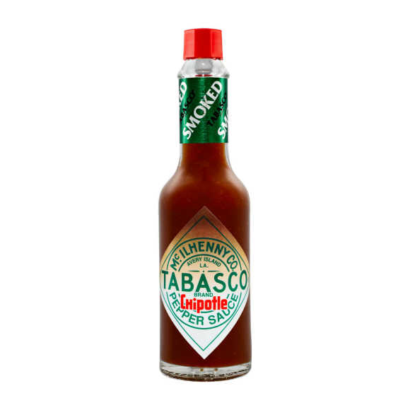 Tabasco Chipotle Pepper Sauce BBQ Smaak 60 ml product photo