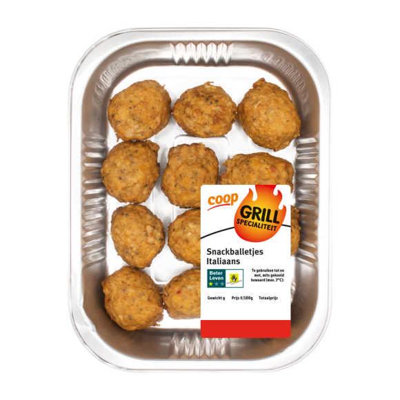 Snackballetjes Italiaans product photo