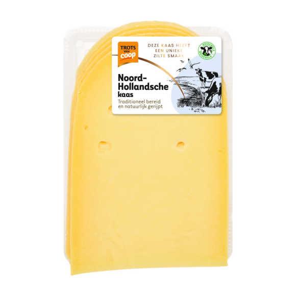 Trots van Coop Noord-Hollandsche belegen 35+ kaas plakken product photo