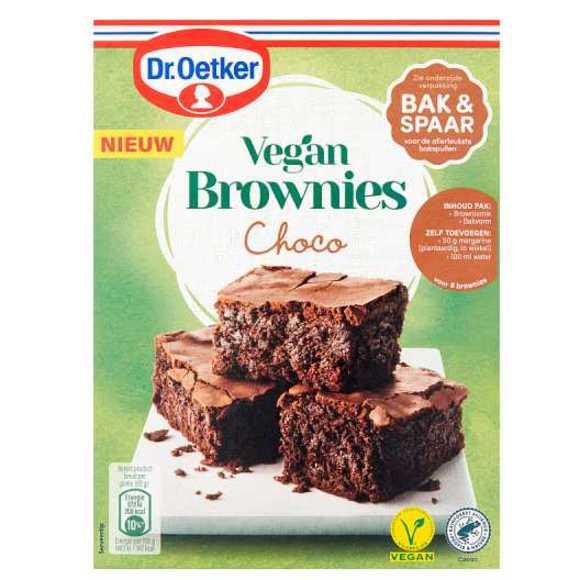 Dr. Oetker Vegan brownies choco product photo